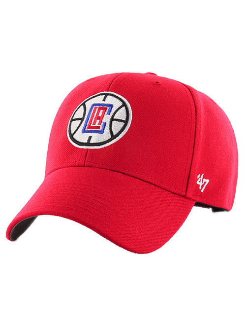 LA Clippers Primary Adjustable MVP Cap - Red
