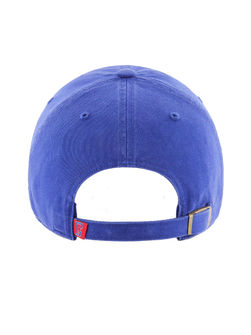 LA Clippers Primary Clean Up Adjustable Cap - Royal