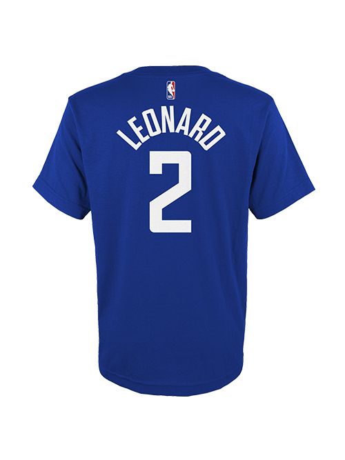 LA Clippers Youth Kawhi Leonard Icon Player T-Shirt