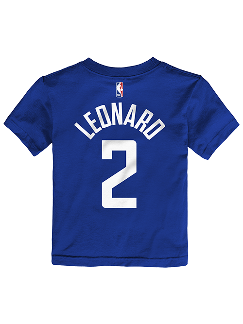 Clippers Infant Kawhi Leonard Icon Player Tee - Royal