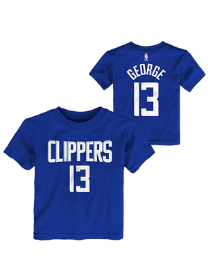 LA Clippers Toddler Paul George Icon Player T-Shirt