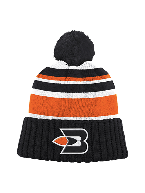 LA Clippers Buffalo Braves Stripe Season Knit Hat