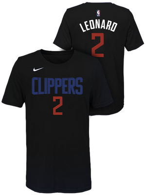 LA Clippers Kawhi Leonard Dark Icon T-Shirt