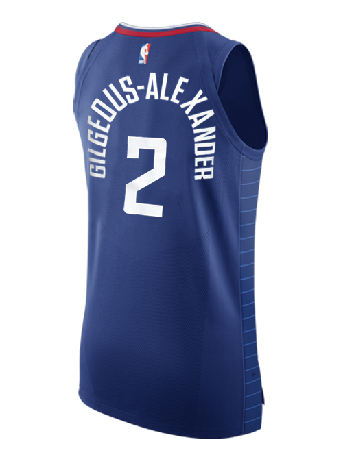 LA Clippers SHAI GILGEOUS-ALEXANDER Icon Authentic Jersey - Navy – Clippers  Store 23fec8598