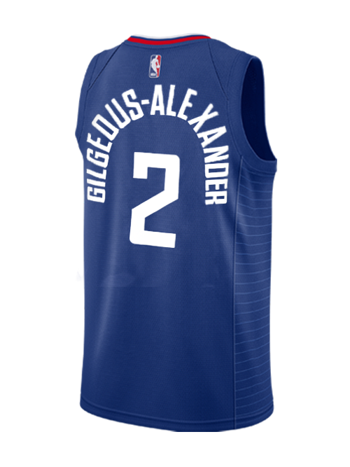 d6b88988657 LA Clippers Shai Gilgeous-Alexander Icon Swingman Jersey - Navy – Clippers  Store