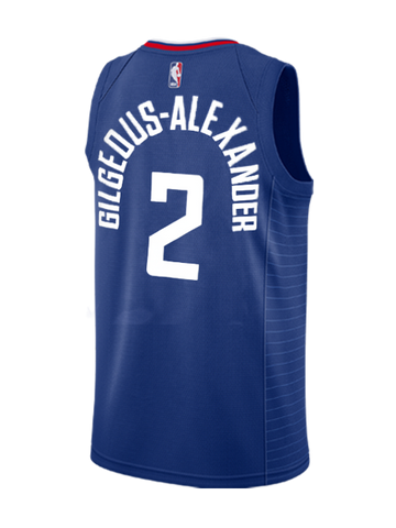 LA Clippers Shai Gilgeous-Alexander Icon Swingman Jersey - Navy