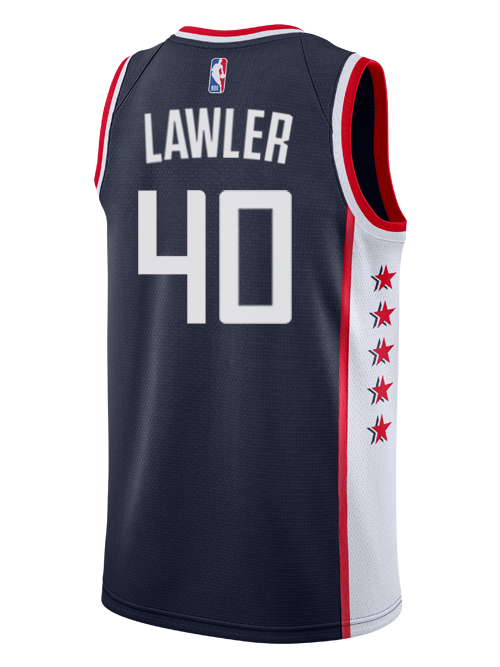 LA Clippers Ralph Lawler City Edition Swingman Jersey