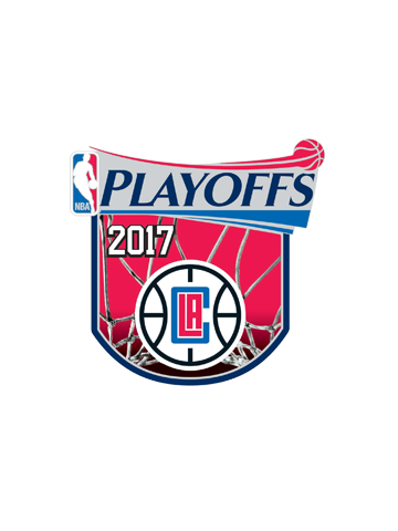 LA Clippers Playoffs Participant Pin