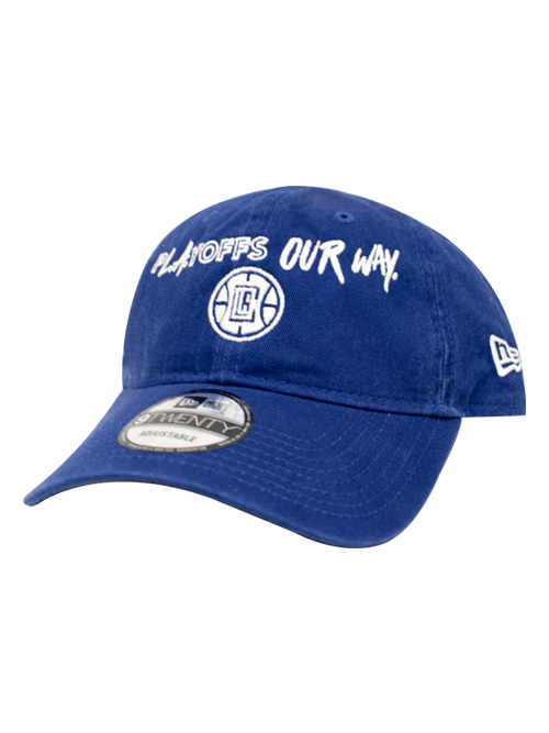 LA Clippers Playoffs 9TWENTY Slogan Adjustable Cap