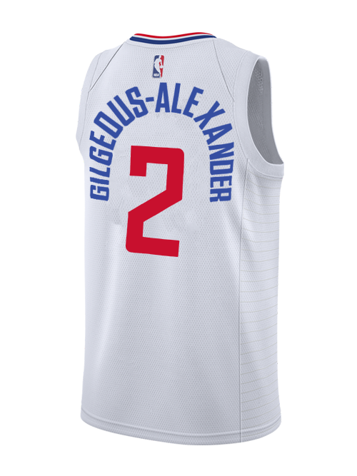 f662dd92a1e LA Clippers Shai Gilgeous-Alexander Association Swingman Jersey - Whit – Clippers  Store