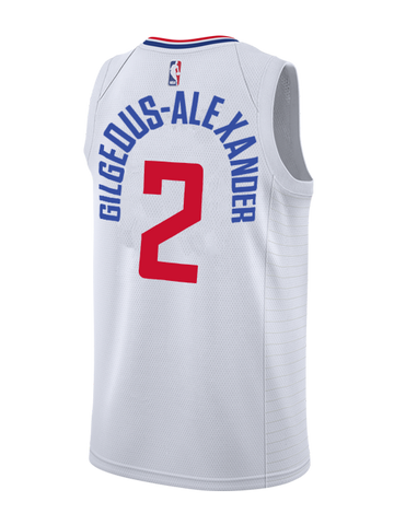 LA Clippers Shai Gilgeous-Alexander Association Swingman Jersey - White f390e83a4