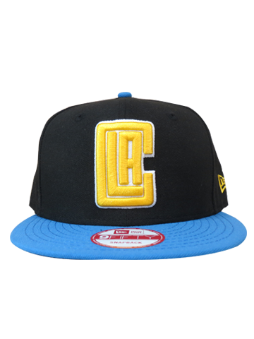 Los Angeles Clippers Blue and Gold Snapback Cap
