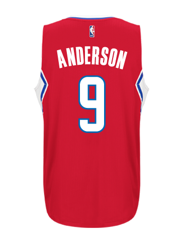LA Clippers Alan Anderson Road Swingman Jersey