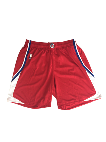 LA Clippers Authentic Road Shorts