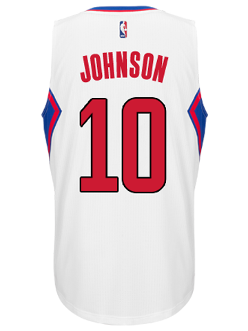 LA Clippers Brice Johnson Home Swingman Jersey