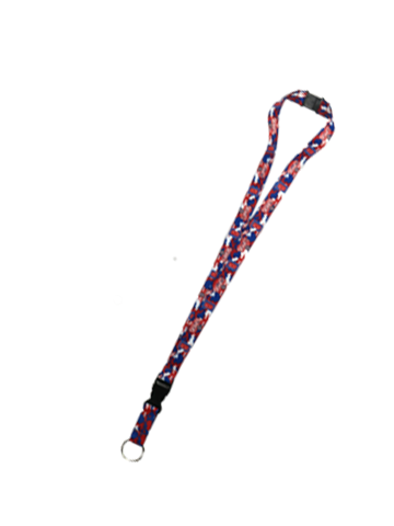 LA Clippers Team Camo Lanyard