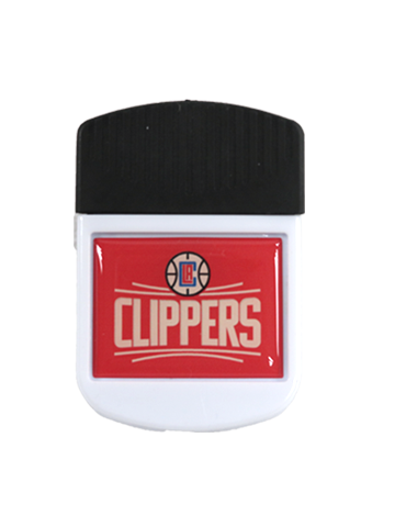 LA Clippers Rectangular Magnet Chip Clip