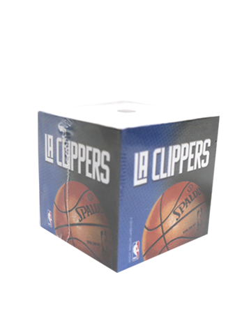 LA Clippers Sticky Note Cube