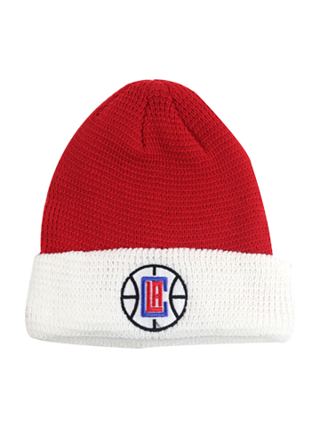LA Clippers Authentic Cuffed Knit Cap