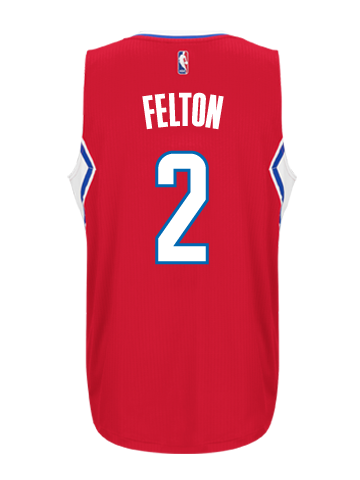 Los Angeles Clippers Raymond Felton Road Swingman Jersey