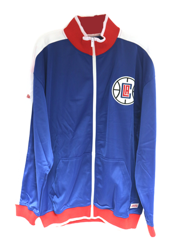 LA Clippers Applique Brush Track Jacket