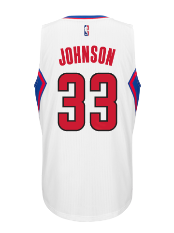 Los Angeles Clippers Wesley Johnson Home Swingman Jersey