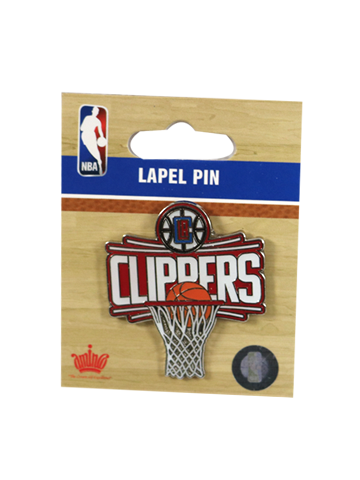 LA Clippers Logo Board Pin