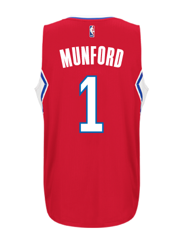Los Angeles Clippers Xavier Munford Road Swingman Jersey