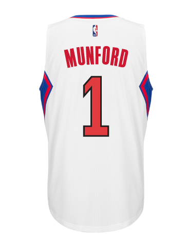Los Angeles Clippers Xavier Munford Home Swingman Jersey
