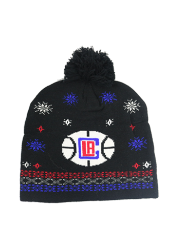 LA Clippers Ugly Sweater Beanie