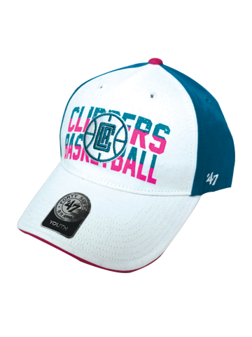 LA Clippers Youth Girls Starlight Adjustable Cap