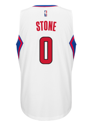 LA Clippers Diamond Stone Home Swingman Jersey