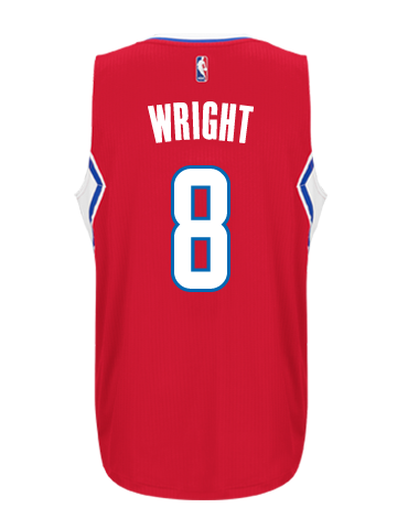 Los Angeles Clippers Dorell Wright Road Swingman Jersey
