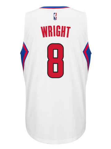 Los Angeles Clippers Dorell Wright Home Swingman Jersey