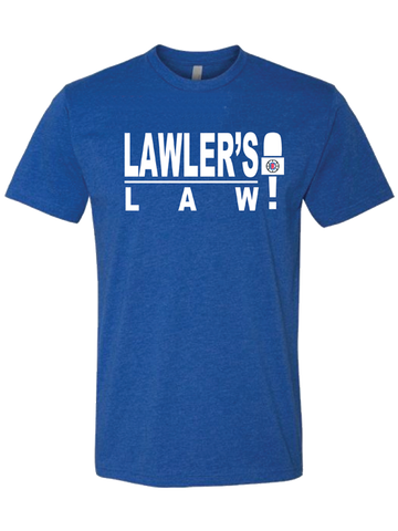 LA Clippers Ralph Lawler - Lawler's Law T-Shirt
