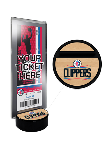 Los Angeles Clippers Ticket Display Stand