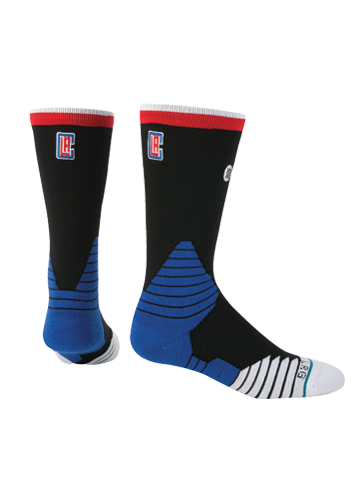 LA Clippers Logo Crew Socks