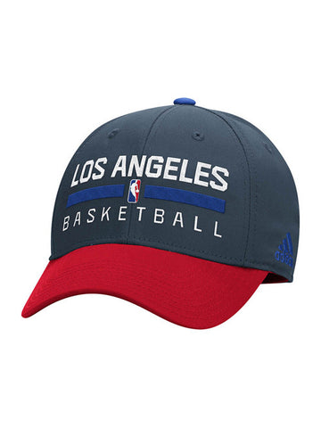 LA Clippers Authentic On Court Practice Structured Flex Cap