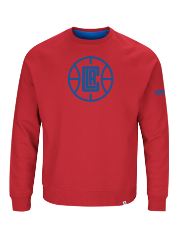 LA Clippers Team Back Up Crew Neck