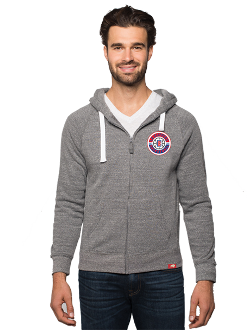 LA Clippers Heywood Full Zip Hoodie