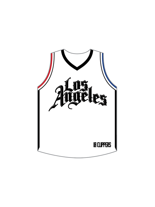 LA Clippers City Edition Jersey Pin