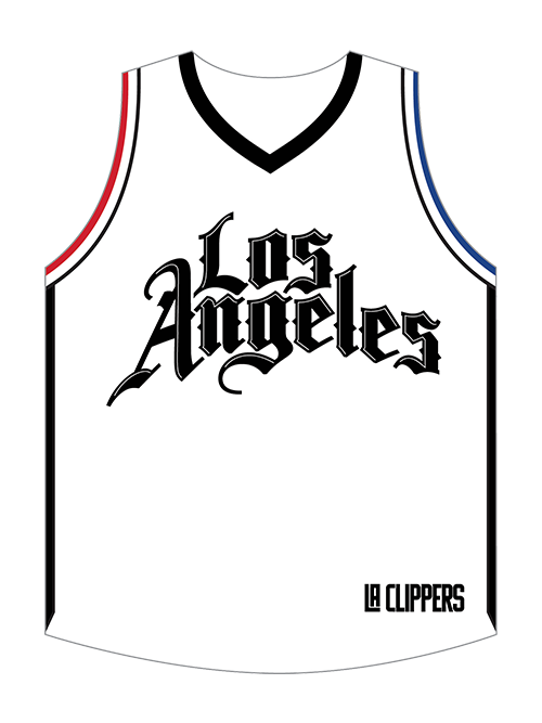LA Clippers City Edition 3-inch Jersey Magnet