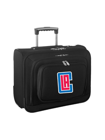 LA Clippers Wheeled Laptop Overnighter