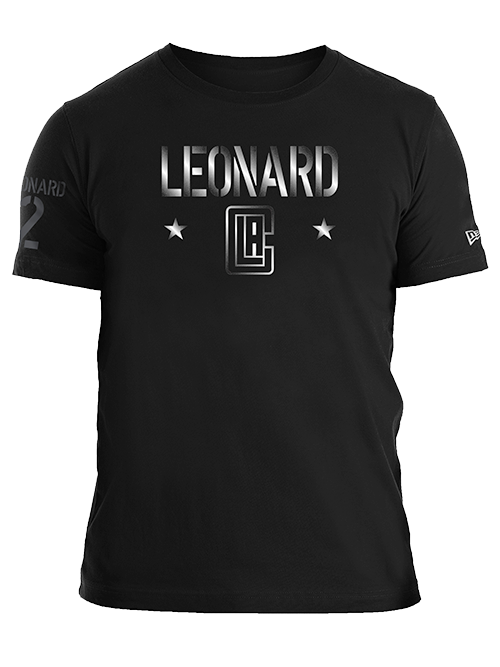 LA Clippers Kawhi Leonard Gloss Military T-Shirt