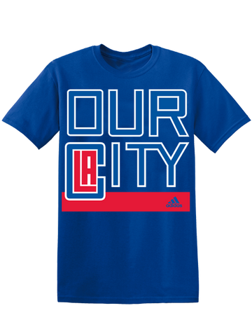 LA Clippers Our City SS Tee