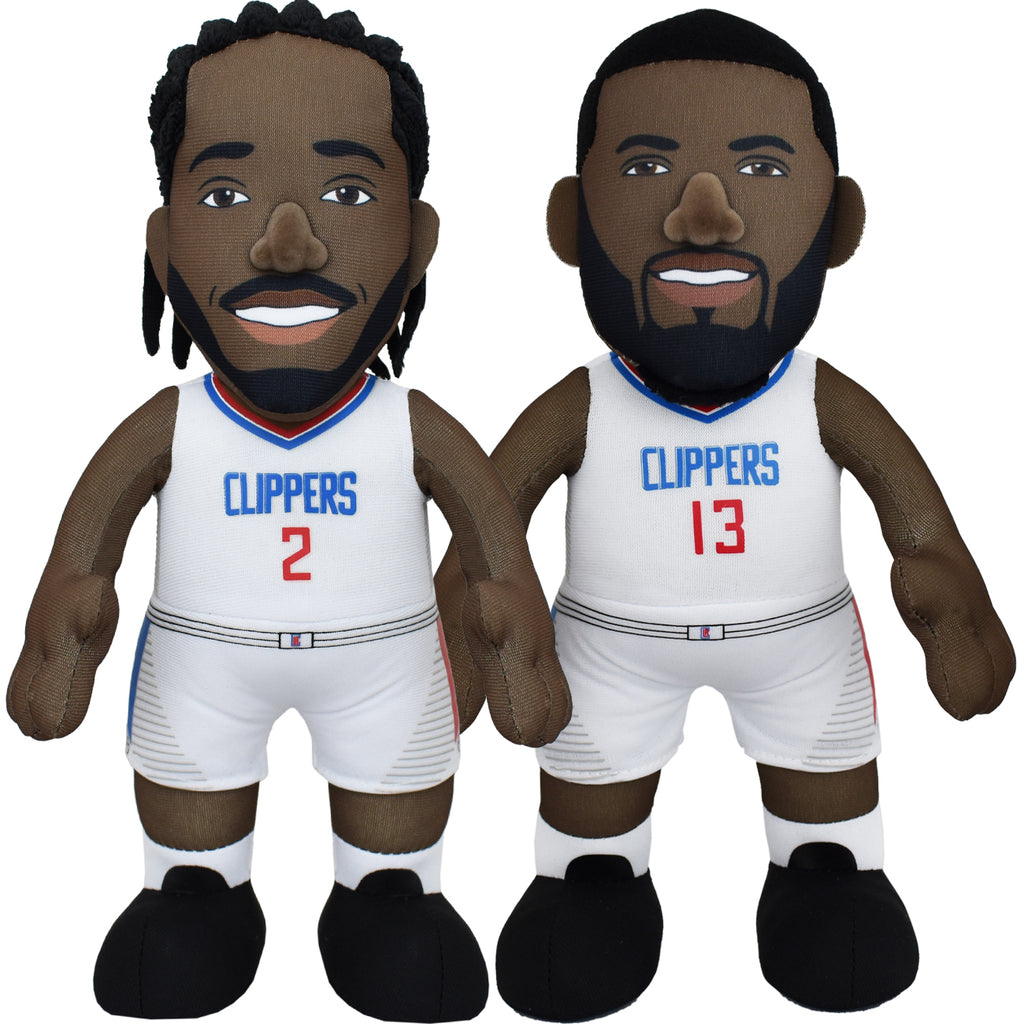 "LA Clippers Bundle: Paul George and Kawhi Leonard 10"" Plush Figures"