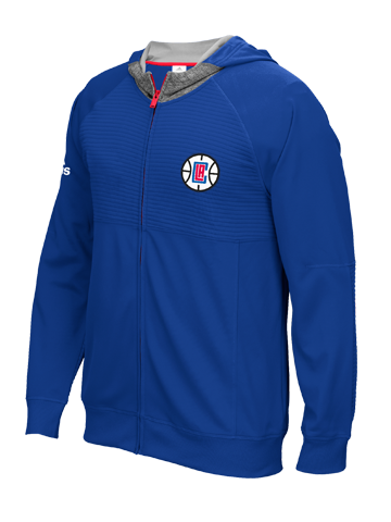 LA Clippers Pre Game Full Zip Jacket