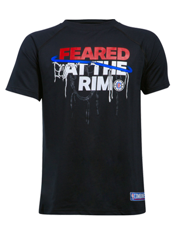 LA Clippers Youth Feared At The Rim T-Shirt