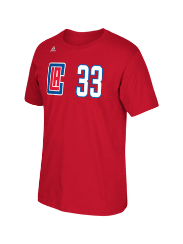 LA Clippers Wesley Johnson Road Player T-Shirt