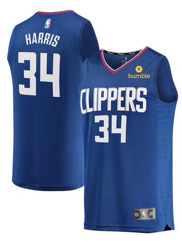 LA Clippers Tobias Harris Icon Replica Jersey 0c5252842